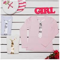Блузки для девочек ТМ Фламинго, стрейч-кулир (артикул 854-417)