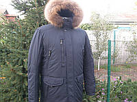 Зимняя мужская куртка шерсти верблюда