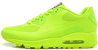 Мужские кроссовки Nike Air Max 90 Hyperfuse (найк аир макс 90) салатовые
