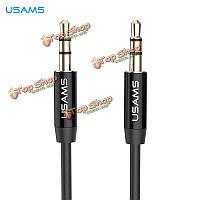 USAms YP-01 3.5мм AUX между мужчинами 1м аудиокабеля