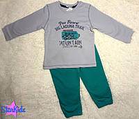 Спортивный костюмчик для мальчика, Bonne baby (6, 12 мес)