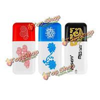 Pisen Chinoiserie Mini кард-ридер USB 2.0 TF кард-ридер Micro-SD карта