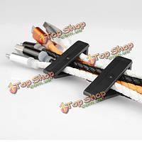 А-шрифт пластиковый кабельный зажим шнура зажим моталки для наушников USB кабель