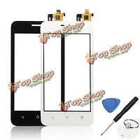 Сенсорный экран дигитайзер Набор для замены стекла Инструмент для Huawei Ascend y360 y336 У3