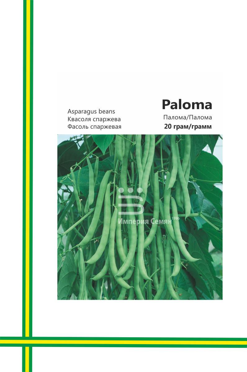 Семена Фасоль спаржевая Палома( большая упаковка)20гр - ООО «Витасад»  (Экспортер семян и С.З.Р) в Одессе