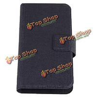 Крупноразмерный универсальный лохов Flip кожаный чехол для мобильного телефона