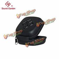 Звук сад универсальный линия наушника сумка портативный наушники сумка для хранения футляр для переноски