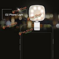 Свет Original рок o2 телефон селфи регулируемая заполняющий свет теплый LED s для iPhone Samsung Huawei Л.Г.