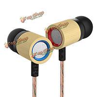 Внутриканальные наушники бас стерео наушники для ED7 бамбуковые наушники 3.5мм HD HiFi Sumsang iPhone KZ