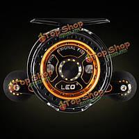 3.6: 1 высокая скорость микро свинца Плот колеса технологии ЧПУ 6 + 1ББ авиационного алюминия Катушки рыболовные снасти