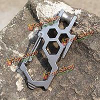 Карабин с накидными ключами стальной
