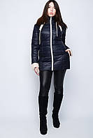 Женская куртка с вставками №33, фото 1