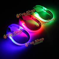 LED Спортивные светящийся обуви клип свет ночь безопасности предупреждение велосипедов на велосипеде Виды спорта