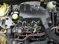 Двигатель Renault Clio II 1.5 dCi, 2007-today тип мотора K9K 718