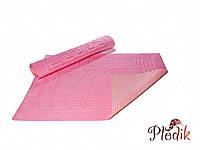 Коврик для ванной 50х75 на резиновой основе Izzihome розовый