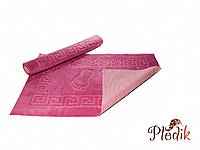 Коврик для ванной 50х75 на резиновой основе Izzihome темно-розовый