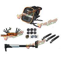 Портативные наборы инструментов по ремонту горных велосипедов инструмент 15 в 1 складной набор инструментов инструмент