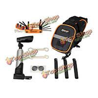 15в1 многофункциональный инструмент инструменты для ремонта велосипеда Комплект для горного велосипеда хвост мешок велосипеда шин инстр