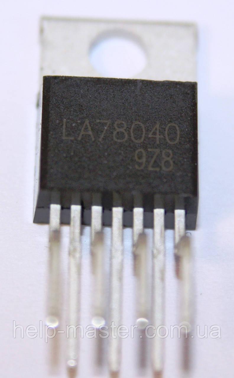 LA78040  (TO-220-7)