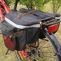 Велосипед заднее сиденье хвост мешок велосипеда езда на велосипеде на открытом воздухе кринолин стойки седло двойной боковой мешок