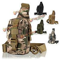 Езда на велосипеде в груди пакет рыбалка охота сумка туризм плечо Tactical открытый многофункциональный