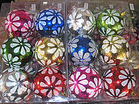 Шар пластик цветной  F-F-6828 (6 шт.)