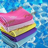 Aonijie охлаждение спорт полотенце лед полотенце фитнес работает артефакт мягкий абсорбировать пот FAST сухой