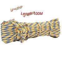 Гора диаметр рок веревка 8мм 100м аксессуар строки шнур для выживания гору спасательной