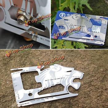 Портативный EDC инструмент карты карманный нож карты многофункциональный инструмент Multi функции из нержавеющей стали на открытом воздухе в