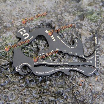 Кемпинг EDC инструмент выживания карты Multi функции Сос карманный инструмент мини нож нож