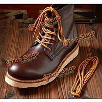 Пешие прогулки сапоги досуг обувь специальная обувь кружева холст прочный шнурок