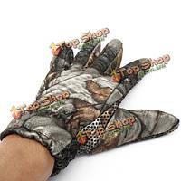 Тактические открытый восхождение охота туризм нескользящие перчатки камуфляж