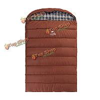 Naturehike 3-х человек спальный мешок портативный конверт хлопка спальный мешок для семейного отдыха на открытом воздухе
