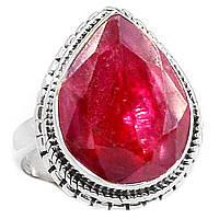 Классический перстень с рубином , размер 16,4 от студии LadyStyle.Biz