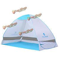 На открытом воздухе кемпинга походы палатка Зонт 2 человека однослойная защита от ультрафиолетовых лучей быстрое автоматическое открыва