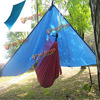 На открытом воздухе гамак Хэвелок Зонт тент палатка тень путешествия кемпинга 300см х 300см