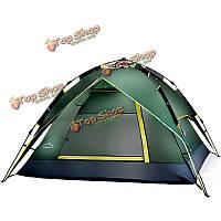 На открытом воздухе 2 человек палатка автоматические двойные слои кемпинг навес устойчивой к ультрафиолетовому
