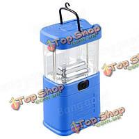 Синий 11 LED бивуак фонарик кемпинг свет фонарика