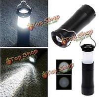 3W LED зумирования фонарь кемпинг чрезвычайных света лампа факел фонарик