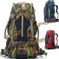 65L Открытый кемпинга походы альпинизма рюкзак рюкзак альпинизм путешествия сумка