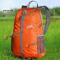 Кемпинг путешествуя альпинизм водонепроницаемый рюкзак сворачивания