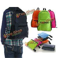 Кемпинг походы складной рюкзак рюкзак сумка на плечо легкий для наружного путешествия