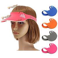 Открытая спортивная шляпа бег трусцой работает крышка обычная козырька солнце крышка Sunhat бейсболка унисекса туризм путешествия