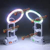 Многофункциональный LED электровентилятора лампа вентилятора легкие мини-стол вентилятор фонарик