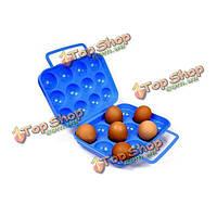 12 сетки пластиковые яйца портативный чехол для кемпинга pinic