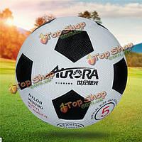 Размер обучение студентов 5 натурального каучука футбол высокая эластичность дети футбол