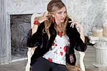 """Шуба из канадской норки BlackNAFA """"Ксения"""" Real mink fur coats jackets, фото 5"""