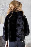 "Шуба з канадської норки BlackNAFA ""Ксенія"" Real mink fur coats jackets, фото 6"