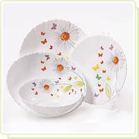Набор посуды 19 предметов Ромашки MR30052-19S Maestro