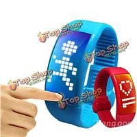 8Гб персонализированные подписи 3D-наручные умные часы шагомер